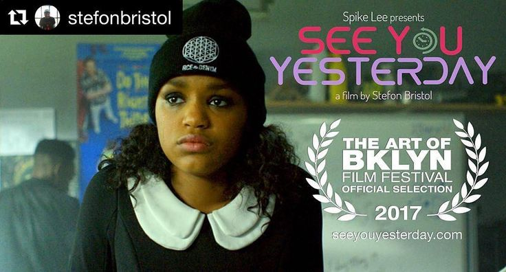 #Repost @stefonbristol (@get_repost)  See You Yesterday is part of the historic Art of Brooklyn Film Festival (@theartofbklyn) and will be screening on June 8th 9PM at St. Francis College in Brooklyn Heights. Link in bio.  #seeyouyesterday #nyu #brooklyn #crownheights #bedstuy #filmmaking #screenwriting #timetravel #aobff17 #spikeleeOriginal photos posted by The Art of Bklyn Film Festival aobff.org