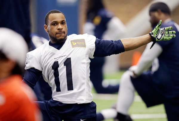 Percy Harvin, and all that he brings, returns to practice #SB48