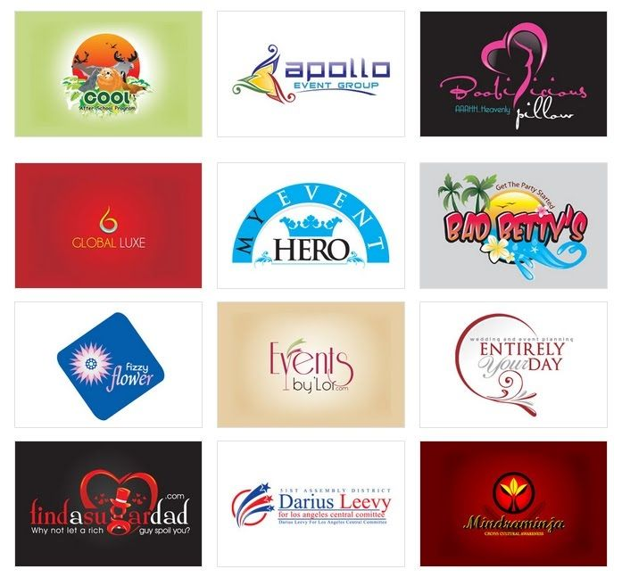 Custom Logo Design By Logoprodesign Event Management Logo Logo Design Logo Design Samples Event Planning Business Cards