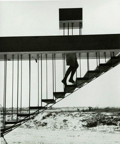 Disappearing Act, 1955 © André Kertész
