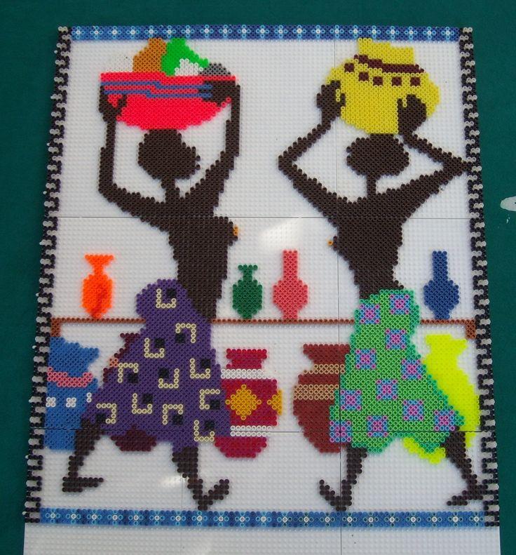 1000 images about hama on pinterest deer hama beads - Hama beads cuadros ...