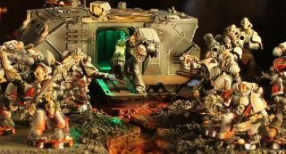 [Blind them with SCIENCE] LEDs, Space Marines and You by Boss Fearless - Forum - DakkaDakka | My Leman Russ is Fight!