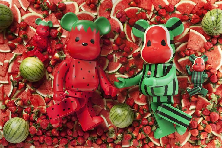 clot x bearbrick x fruit