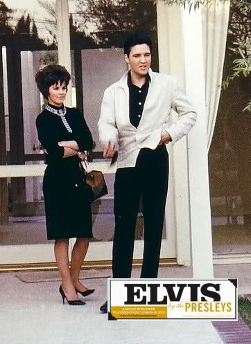 """March 2, 1963: While Elvis finished filming """"Fun In Acapulco"""" Priscilla arrived in Los Angeles with her father, Captain Paul Beaulieu. He must meet Elvis and see the conditions for Priscilla living in Memphis with Vernon and Dee and finish the school year in Immaculate Conception High School."""" Photo taken during this time in Los Angeles."""