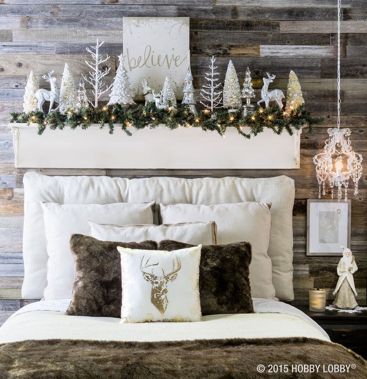 25 best ideas about christmas bedroom decorations on - Best christmas bedroom decoration ...