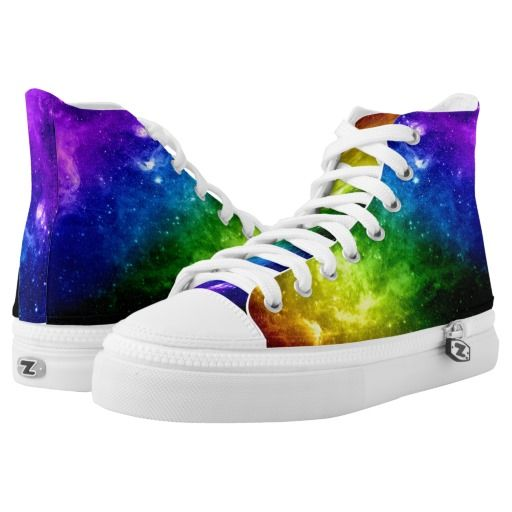 Galaxy Gay Pride Rainbow LGBT Shoes