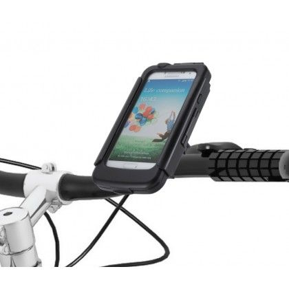 $49.95 Galaxy S4 Weatherproof Shock Protected Smart Mount. Pre-sale at 20% off. Contact sales@bike2power.com for your coupon code