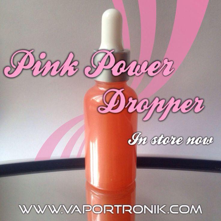 Pink power glass bottle whit dropper in store now !!!!  #vape #vaper #vapeon #vapelife #vapehard #diy #eliquid #bottle #dropper #pink   WWW.VAPORTRONIK.COM
