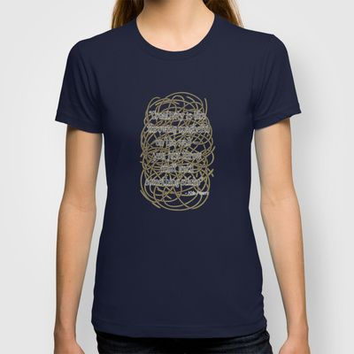 Design Spaghetti T-shirt by Nameless Shame - $22.00