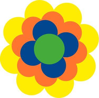 Jaaaaa, die Pril-Blume. Man kann sie zur Deko aus Papier machen. Bei diesen Party-Tipps hier: http://blog.einladunggeburtstag.de/portfolio/70er-jahre-party/