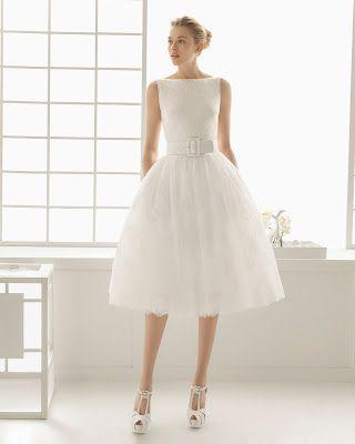 vestidos de novia cortos rosa clara |faith | vestidos de novia