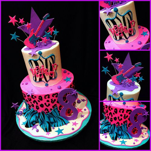 26 best Rockstar Diva Party images on Pinterest Animal print party