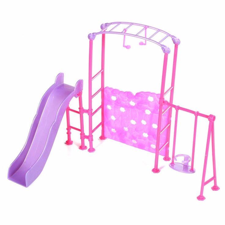 Slide Swing Set Accessories Dollhouse Doll Furniture
