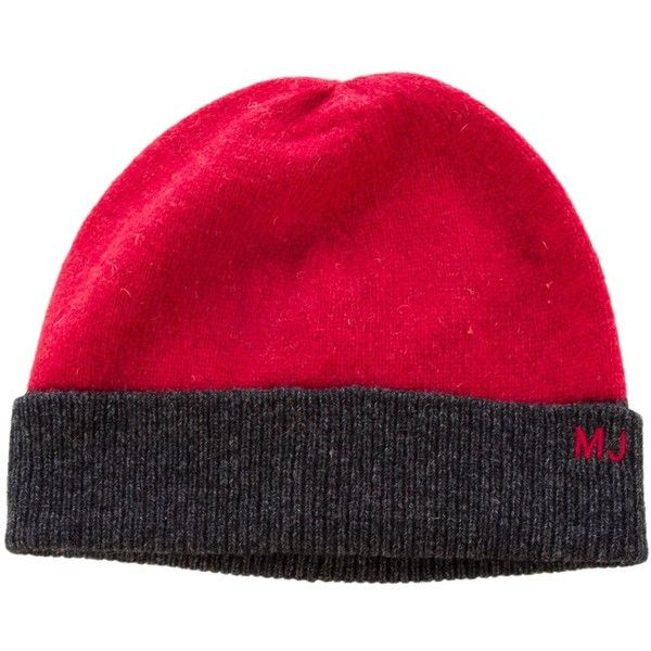 Pre-owned Marc by Marc Jacobs Wool Logo Beanie (180 BRL) ❤ liked on Polyvore featuring men's fashion, men's accessories, men's hats, red, mens hats, mens wool beanie, mens red hats and mens wool hats
