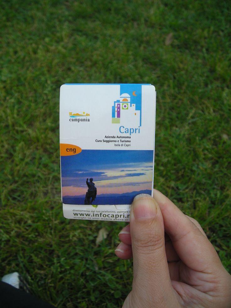 Editoria / Azienda Soggiorno e Turismo isola di Capri  Matilde Lepore / Grap...