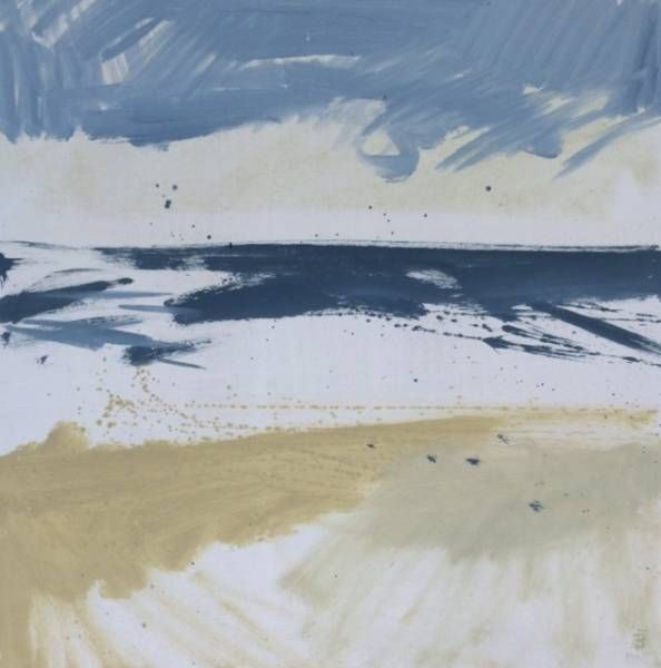 Foaming Sea, Porthmeor | Lucie Bray