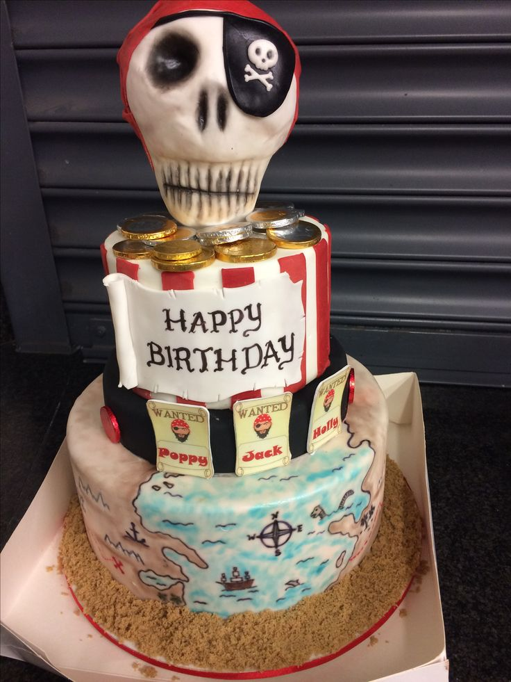 Pirates cake. Joint party