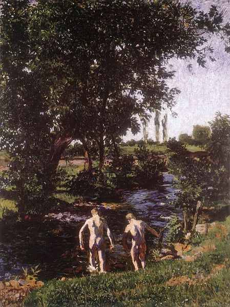 Károly Ferenczy: Summer, 1901 (Hungarian National Gallery)
