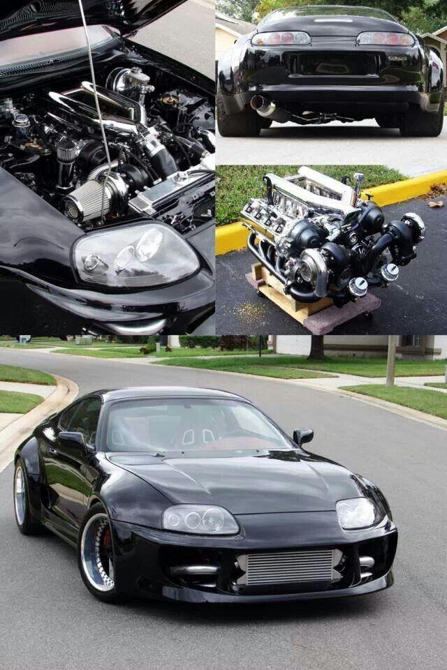 Beastly Toyota Supra #ForTheDriven #Scion #Rvinyl =========================== http://www.rvinyl.com/Scion-Accessories.html