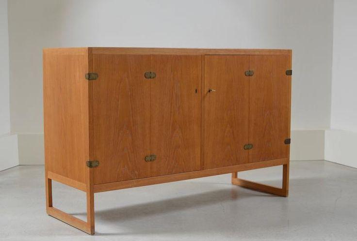 Oak BM57 Cabinet by Børge Mogensen 2