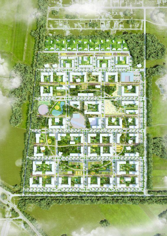 Vaskhnil Novosibirsk by Felixx and KCAP #landscape #urbanism
