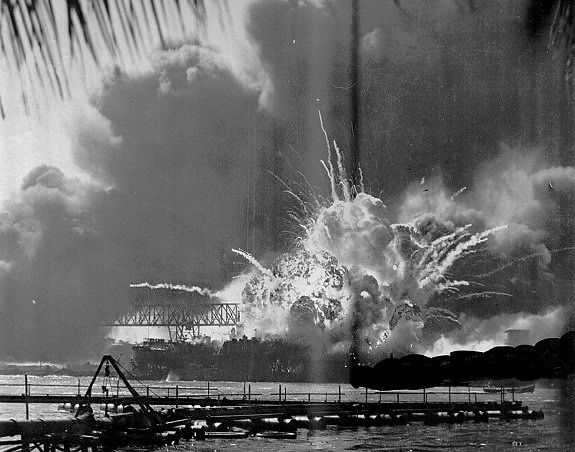 "Pearl Harbor - December 7, 1941 - ""A Date Which Will Live In Infamy"""