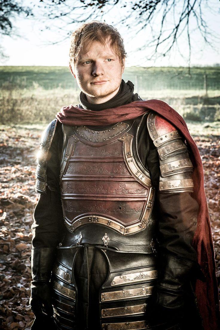 Ed Sheeran in Game of Thrones - O 1º episódio da sétima temporada foi espetacular e de brinde, Ed Sheeran cantando e encantando.