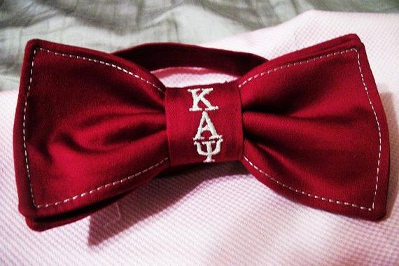 Customizable Fraternity Bowties on Etsy, $25.00