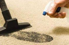 Jednoduché triky na čistenie kobercov