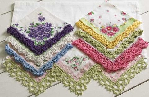 Picture of Lace Edgings Crochet Pattern Purchasable pattern for download