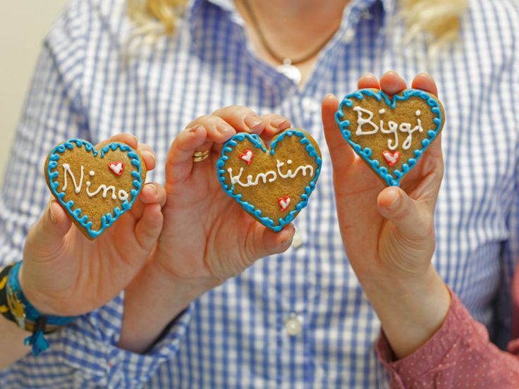 Gingerbreadman trifft Dirndlgirl & Lederhose – die süßen Kekse zum Oktoberfest…