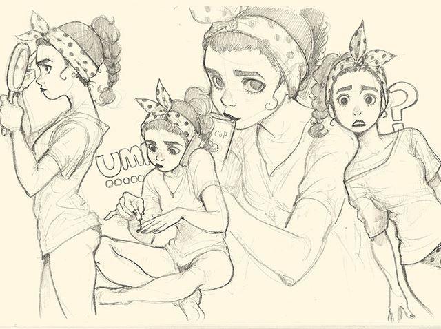 Instagram media by mjj_nz - #doodle #character #design 낙서시리즈1