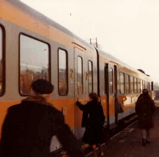 This Photograph Of A Small Train Station In France Taken By Me 1979 Introduces Part Four My Story As An American Au Pair The Loire Valley