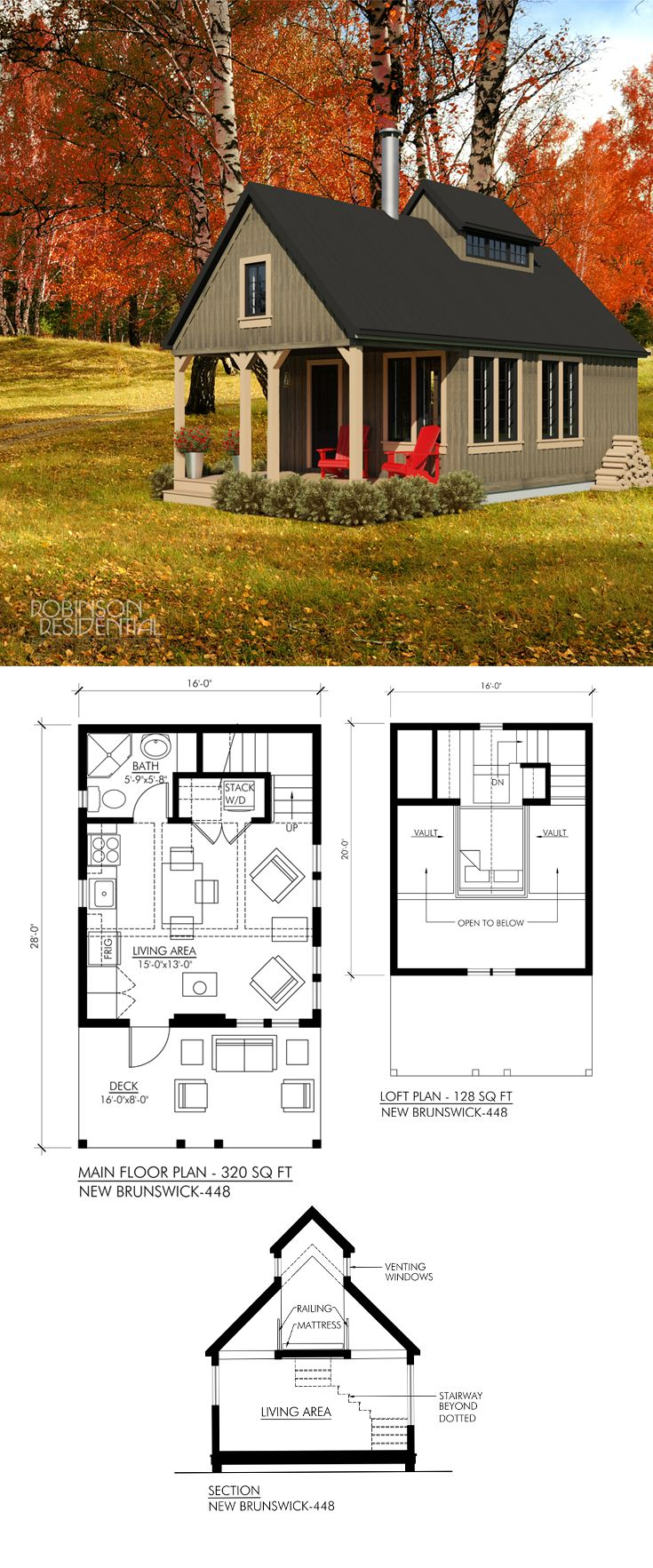 Best 25 small house plans ideas on pinterest for Small house plans canada