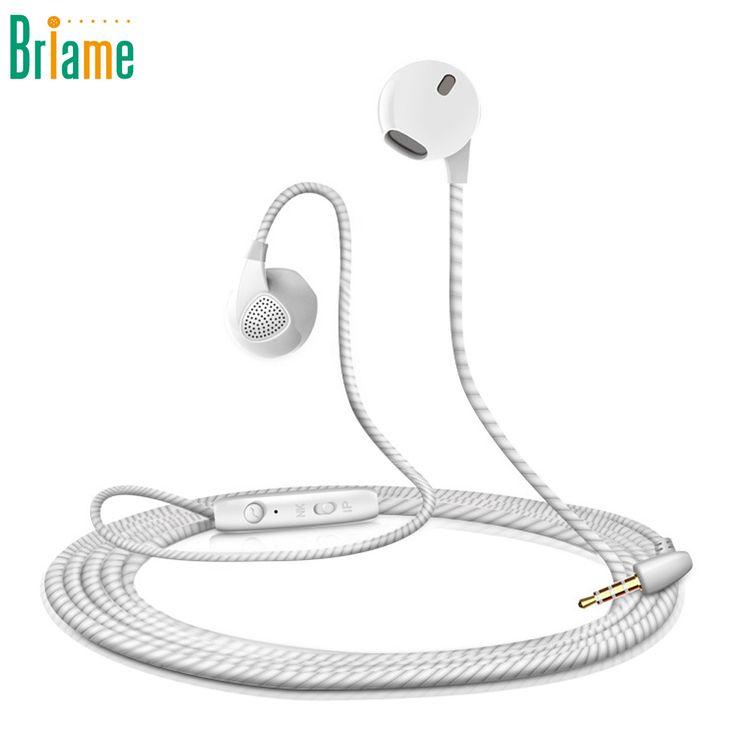 Słuchawki sportowe Słuchawki Stereo 3.5mm Super Bass Muzyka Running Zestaw Słuchawkowy Z Mikrofonem Do iPhone Samsung Xiaomi Fone de ouvido