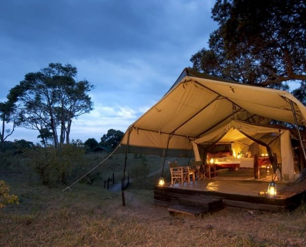 OFFBEAT MARA CAMP - Is the traditional Safari at its very best- private and small; the camp offers excellent game viewing in one of the most famous Safari destinations in the world the serene and unspoilt Mara North Conservancy, and close access to the famous Masai Mara National Reserve. The camp sleeps just 12 guests in six traditional safari tents.