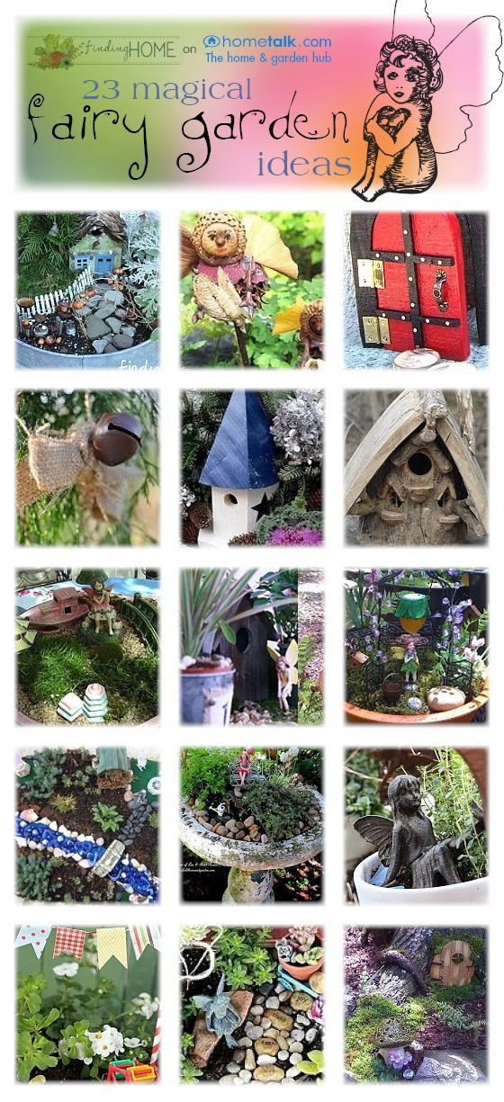 FairyGardensInspirationHometalkFindingHome thumb Decorating Ideas: Bringing Flowers In Fairy Gardens