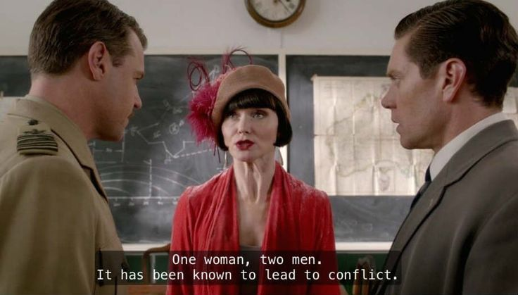 Highlights of Murder and the Maiden: Bert is adorable when in love; Phryne enjoys being the center of a love triangle; Jack looks hot on a motorbike.