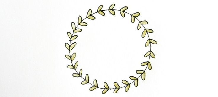 10 Ways to Draw Laurel Wreaths   The Postman's Knock