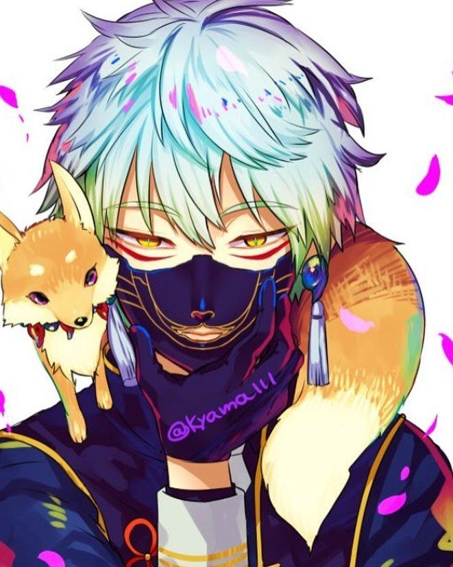 Manga Anime Fox Boy Anime Fox Boy Touken Ranbu Anime