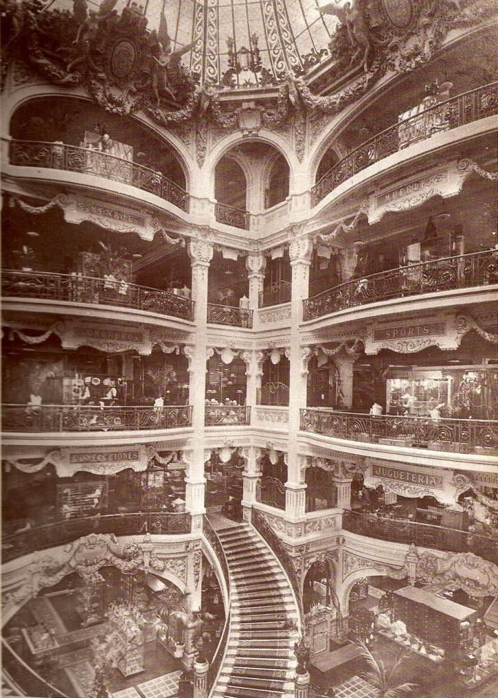 Gath & Chaves, Buenos Aires. One of the city's most legendary and opulent department stores, sadly no longer in existence.