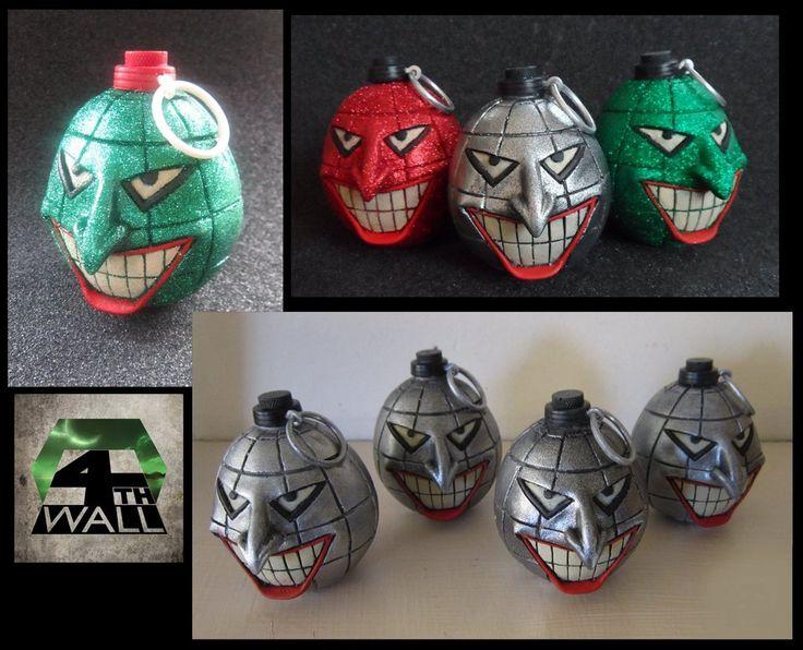 Joker Grenades V2 by 4thWallDesign.deviantart.com on @DeviantArt