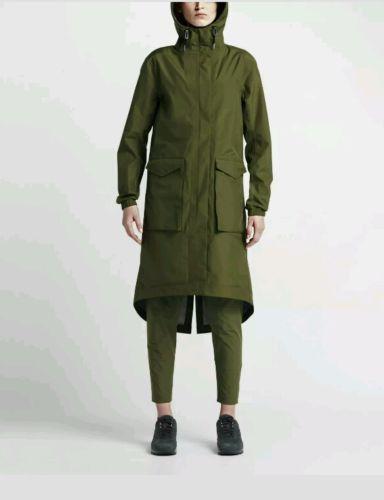 Nike-NikeLab-Women-039-s-Essentials-Storm-FIT-Parka-Legion-Green -Size-M-841582-331 1b984f9fd