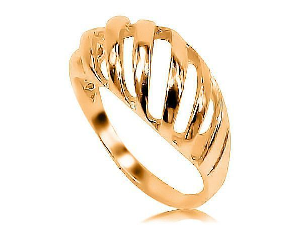 Anel Filigrana em Ouro amarelo Metal: Ouro 10K (416) Modelo: Vicenza Quantidade: 1 Anel Largura: 0.3cm Peso: 2.1 gramas (Aprox). CERTIFICADO GARANTIA ETERNA