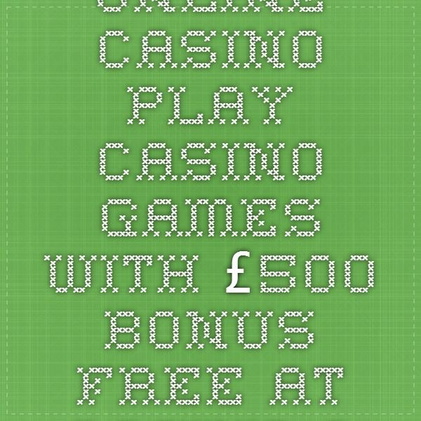 Online Casino - Play Casino Games with £500 Bonus FREE at Casino Classic Casino!