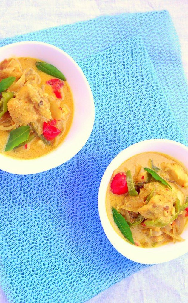 Coconut Fish Curry - PRESSURE COOKER RECIPE