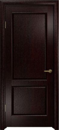 Дверь межкомнатная Арт-Деко Ариа-2, Венге, Без стекла, Коллекция «Застройщикам»   ДверьVДом