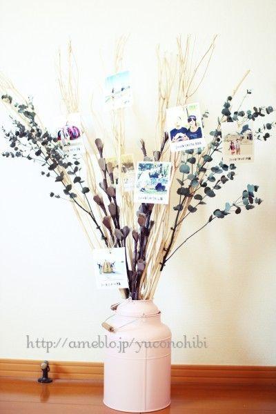 ウェディングツリーDIY・高砂装花|\ daydream* /☆手作りHome&Wedding☆