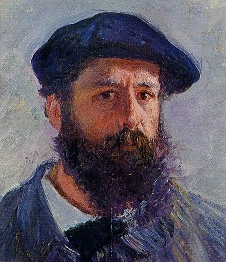 Oscar-Claude Monet (14 November 1840 – 5 December 1926) was a founder of French Impressionist painting, and the most consistent and prolific practitioner of the movement's philosophy of expressing one's perceptions before nature, especially as applied to plein-air landscape painting.  (self portrait 1886)