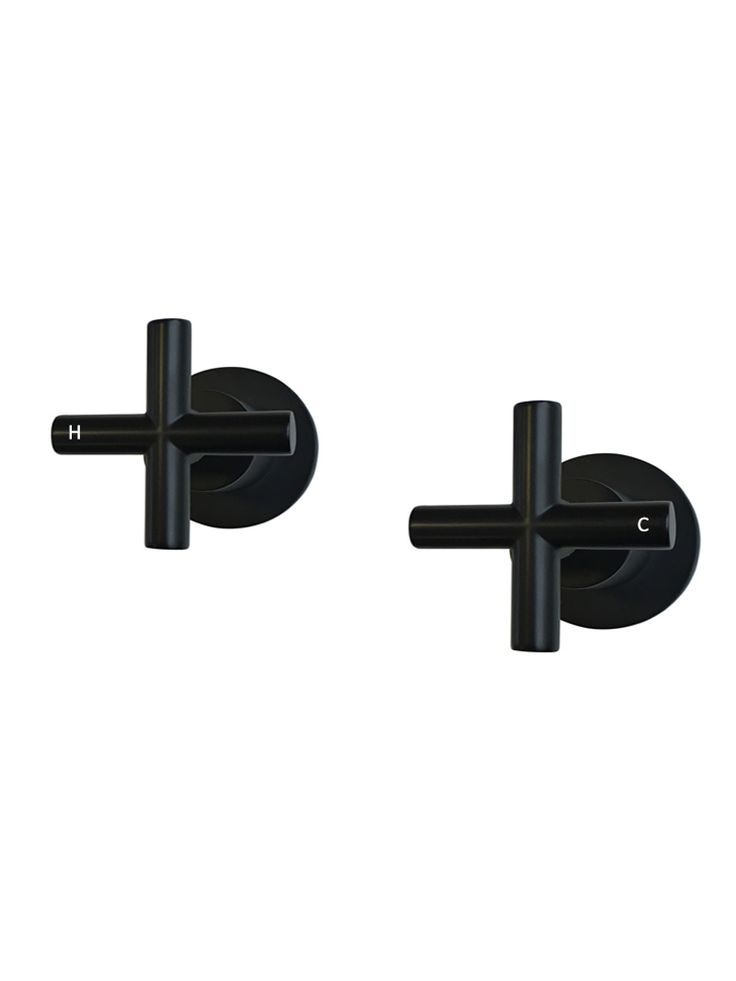 This classic and timeless Round Jumper Valve Wall Top Assembly Taps. Designed to be used in kitchen, bathroom or laundry by Meir Australia.
